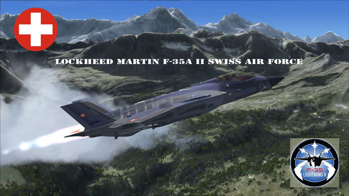 Lockheed Martin F-35A II Swiss Air Force for FSX
