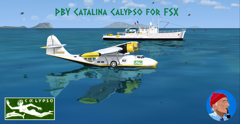 PBY Catalina Calypso for FSX