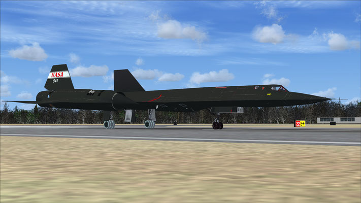 SR-71A Blackbird NASA Experimental for FSX