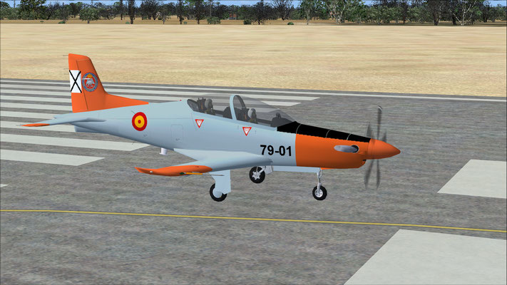 Pilatus PC-21 Spanish Air Force Trainer repaint for FSX