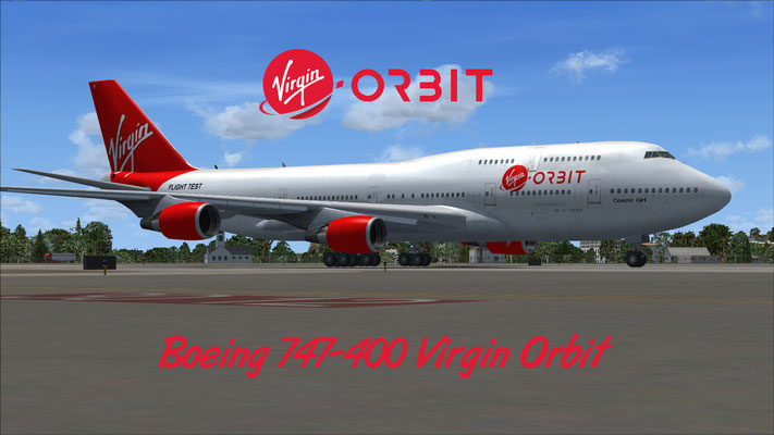 Boeing 747-400 Virgin Orbit for FSX