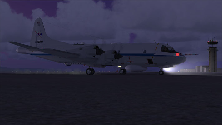 NASA P-3 Orion for FSX (Repaint)