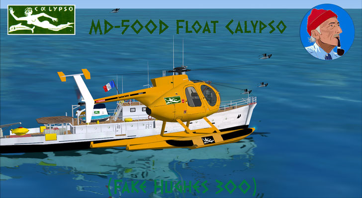 MD-500D Float Calypso for FSX