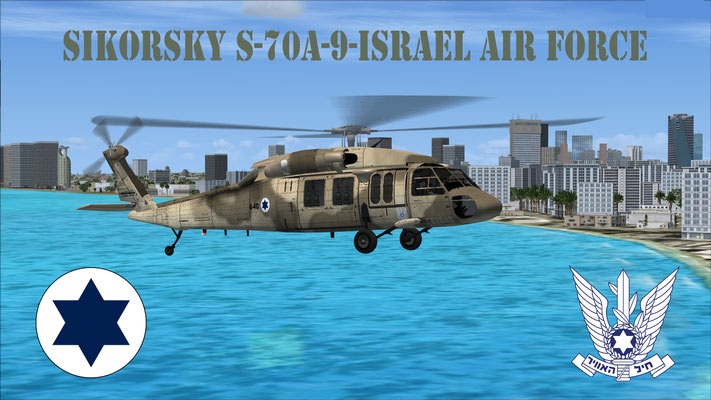 Sikorsky S-70A-9-Israel Air Force for FSX