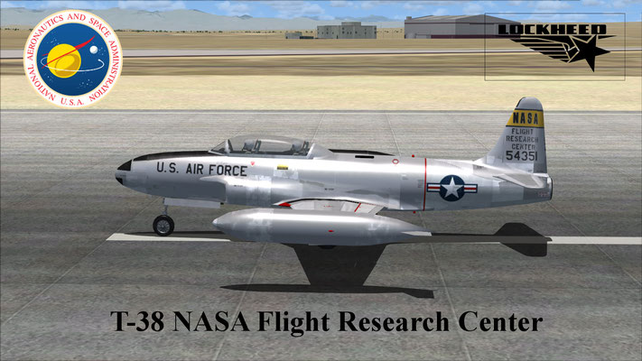 Lockheed T-38 NASA Flight Research Center for FSX