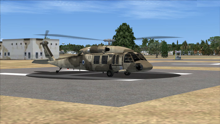 Sikorsky S-70A-9-Israel Air Force repaint for FSX