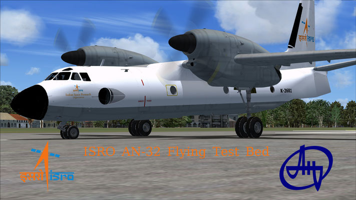 ISRO AN-32 Flying Test Bed for FSX (Fictional)