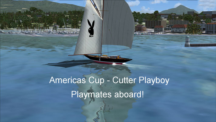 Americas Cup - Cutter Playboy for FSX