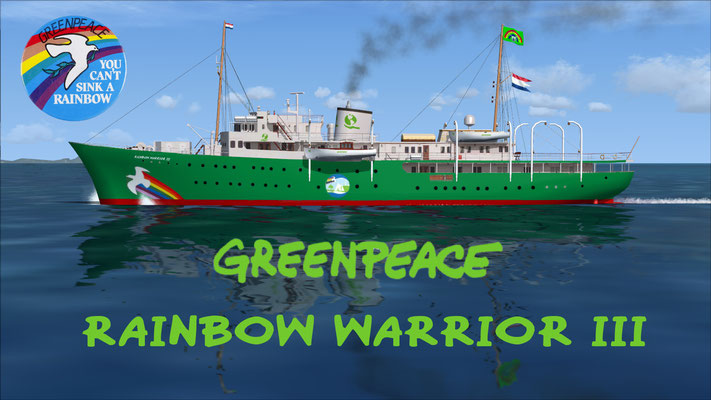 Greenpeace Rainbow Warrior III for FSX