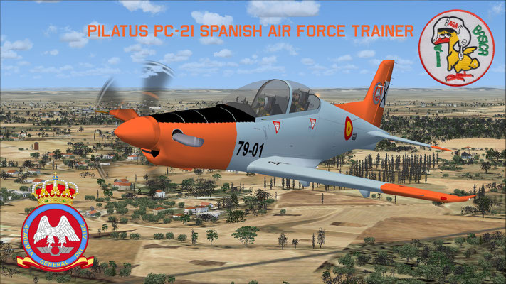 Pilatus PC-21 Spanish Air Force Trainer for FSX