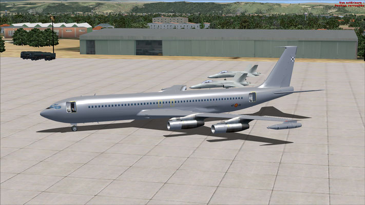 Boeing 707-321C (KC) Spanish Air Force Escuadron 47 repaint for FSX