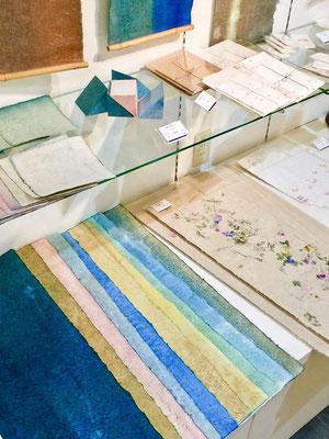 能登仁行和紙 自然素材 草木染 野集紙 クラフトAギャラリー