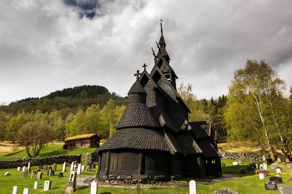 Stabkirche in Borgund, UNECSO Weltkulturerbe