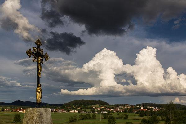 Blick nach Schwarzhofen