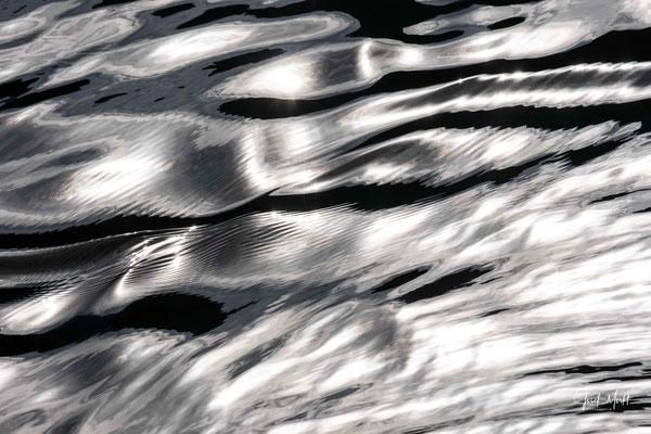 Wasserwellen, Hallstätter See