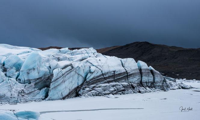 Gletscher-Eis