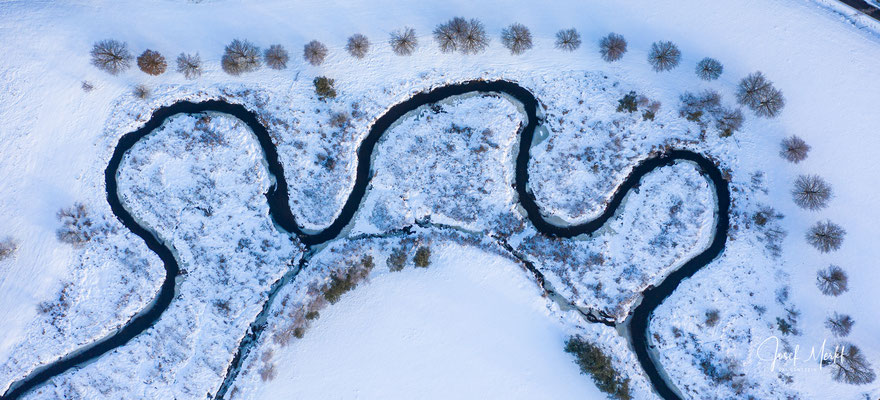 Fluss Pfreimd bei Pfrentschweiher