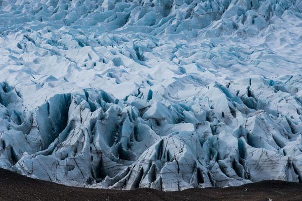 Gletscherzunge Fláajökull