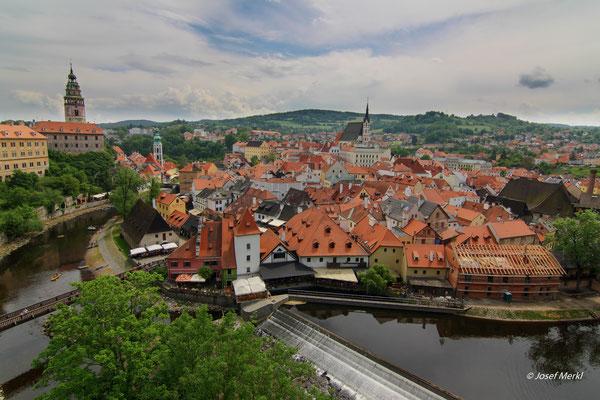 Cesky Krumlov (Krumau), Tschechien, Unesco-Weltkulturerbe