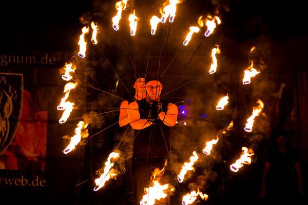 Feuershow Ameno Signum, Neunburg vorm Wald