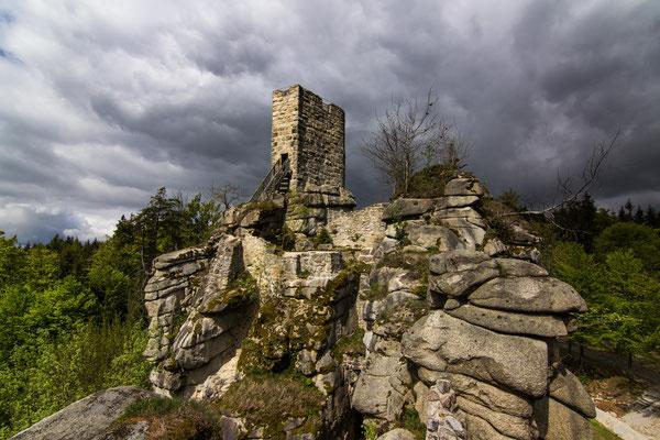 Burgruine Weissenstein, Steinwald