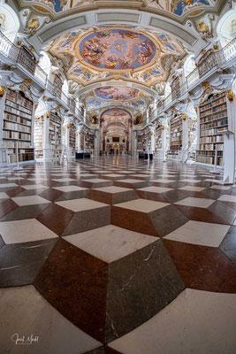 Klosterbibliothek, Benediktinerstift Admont, Österreich