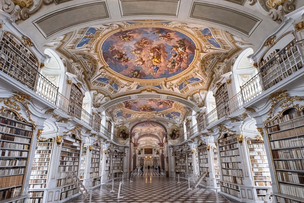 Klosterbibliothek, Benediktinerstift Admont, Steiermark
