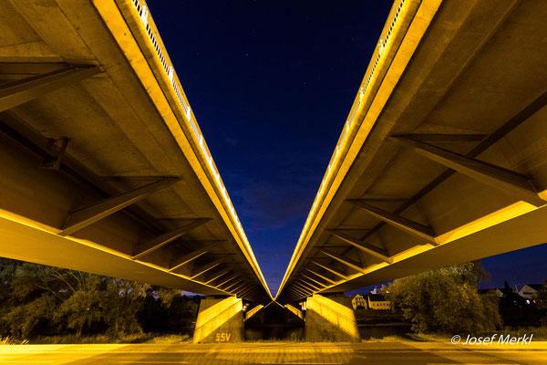 Nibelungenbrücke in Regensburg