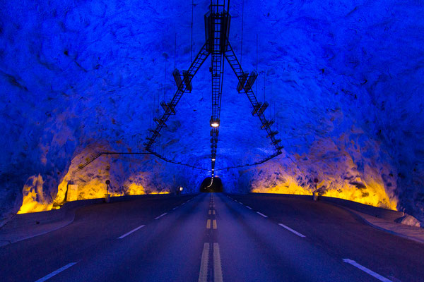 Tunnel in Norwegen