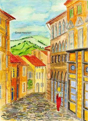 5.8.-Toscana-Altstadt-Chuisi        /          unverkf.