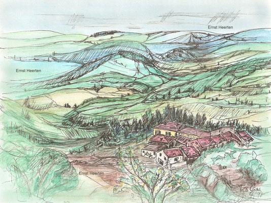5.4.- Toscana-kleines-Dorf      /        200.- €