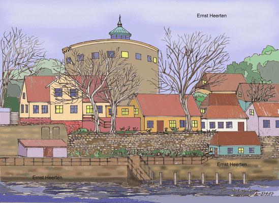 4.7. - Festungsturm - christinsö (Dänemrk)   150.-€