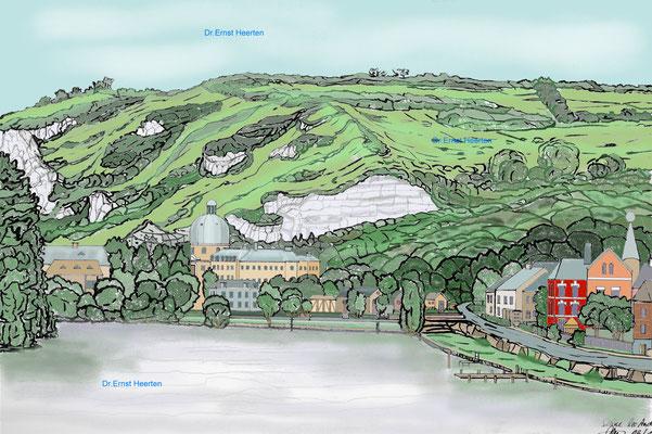 5.19 - Les Andeley - an der Seine gelegenes Dorf  /  200,- €