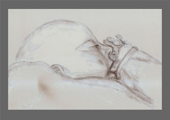 Vincent schlafend                       /       unverkäuflich