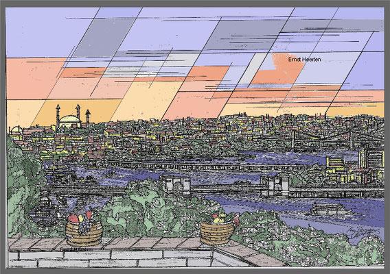 9.4.- Istanbul-Bosporusbrücken      /        250.- €
