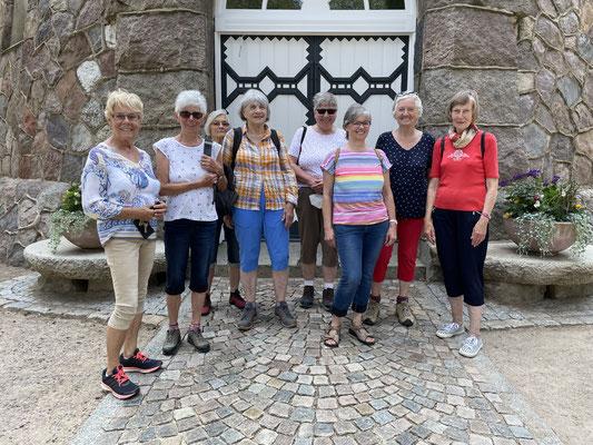 Wandergruppe im Juni