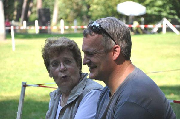 Fachsimpelei? Rosemarie Neuwardt und Jens Böse