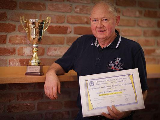 Ehrenpokal aus Frankreich für Heinzi`s Weißwurst 2014