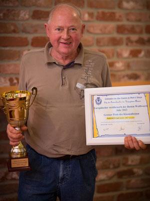 Ehrenpokal aus Frankreich für Heinzi`s Weißwurst 2013