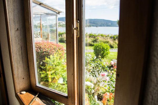 Hostal con jardín