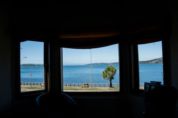 Room with view over Ancud Bay