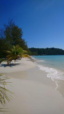 Tropische stranden op Koh Rong eiland