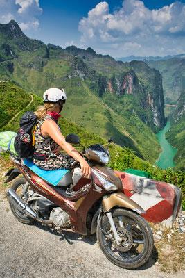 Motorrijden in het noorden van Vietnam