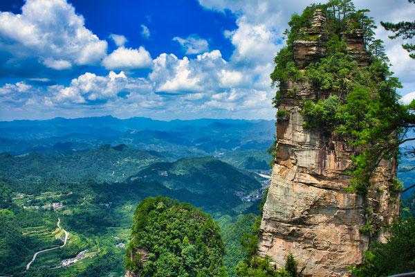 National forest park of Zhangjiajie.