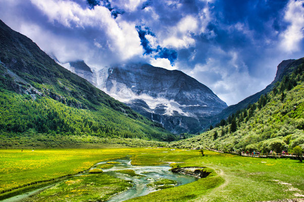 Yading nature reserve in China