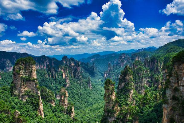 Het landschap van dit park is de inspiratie voor de Floating mountains in de film Avatar