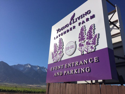 Young Living farm and warehouse in Utah