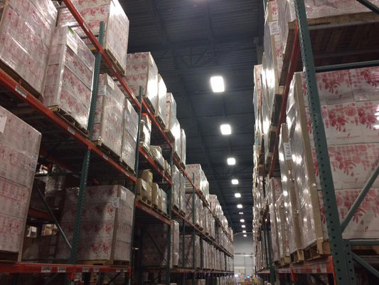 Young Living's warehouse