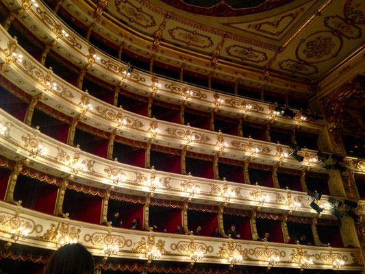 Guide in Bologna Parme Théatre Reggio