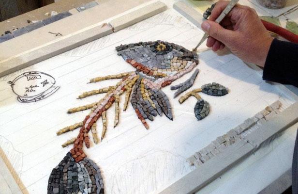GuideInBologna - Ravenna, un atelier de mosaïque
